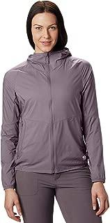 Mountain Hardwear KOR Preshell Hoody Women's Lightweight Hooded Jacket Layer for Running, Hiking, Climbing, and Everyday