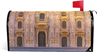 LYAOE Mailbox Covers Milan Cathedral Duomo Di Milano Milan Post Covers Magnetic Cover Wrapped Standard Size 25.5