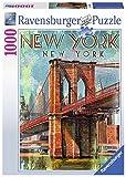 Ravensburger Retro New York Puzzle - Rompecabezas (Puzzle rompecabezas, Ciudad, Niños y adultos,...