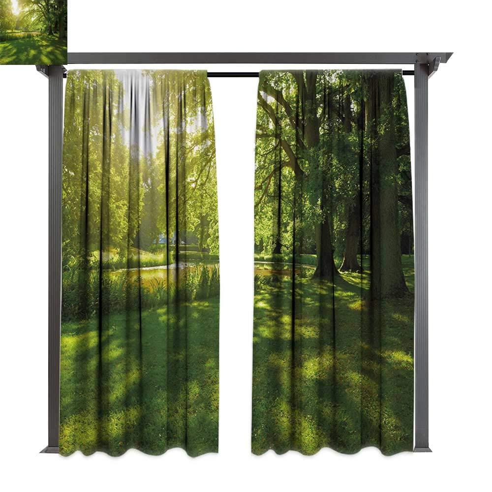 bybyhome - Cortinas de Porche, arbustos perennes Verdes, exóticas ...