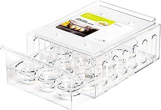 Panier à œufs pour réfrigérateur - Boîtes de rangement pour les œufs, les boissons, les légumes, les fruits - Tiroir extra...