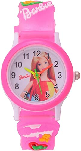 SWADESI STUFF Analogue Girls Watch Multicolour Dial Pink Colored Strap