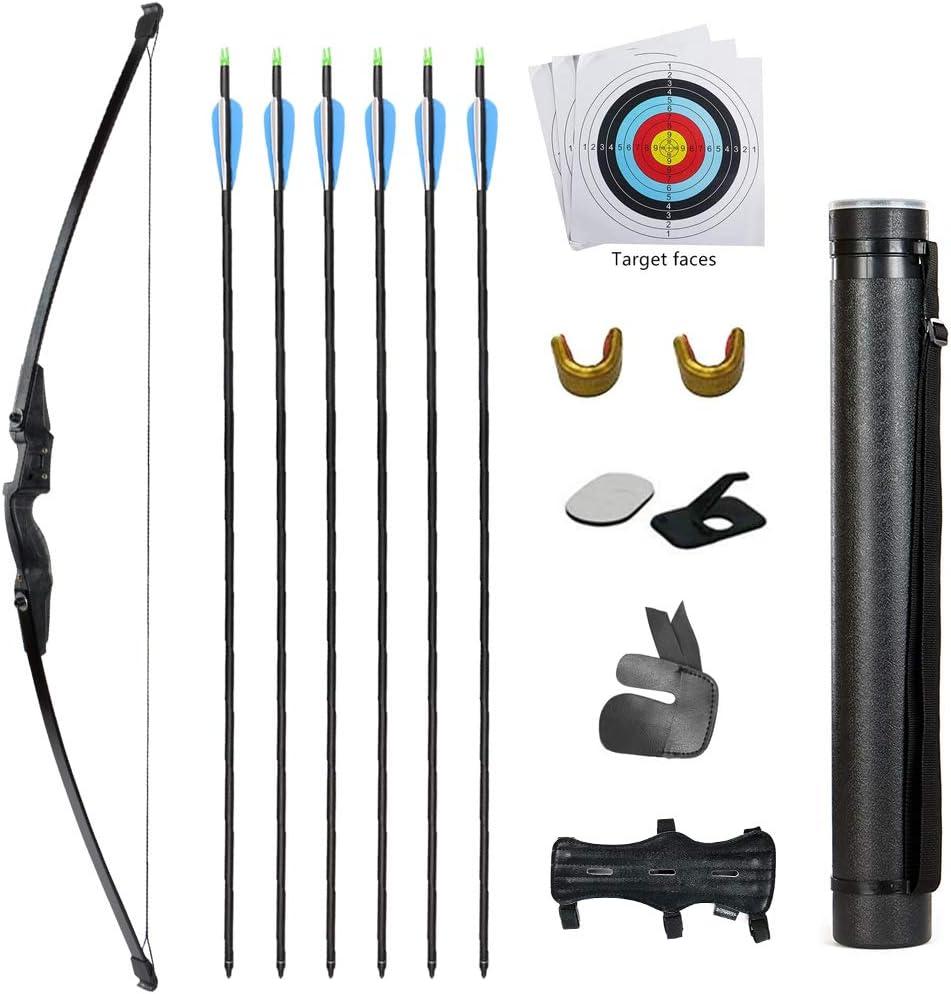 TOPARCHERY Archery 送料無料でお届けします Bow 卸売り and Arrow Set Recurve lbs 30 40 Takedown