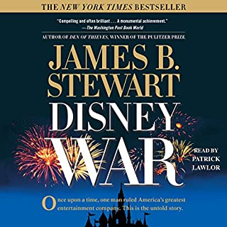 DisneyWar cover art