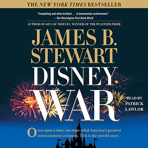 DisneyWar audiobook cover art