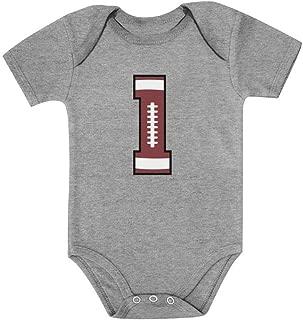 Tstars Gift for 1 Year Old Boy Football 1st Birthday Baby Boy Baby Bodysuit