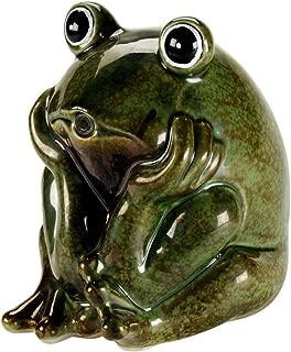 AQUANIQUE Ceramic Frog Spitter
