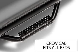 n-FAB F1785CC-TX Textured Black Step Systems, 2 Pack