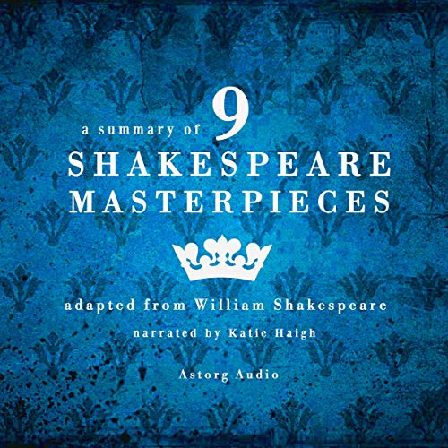 A summary of 9 Shakespeare masterpieces cover art