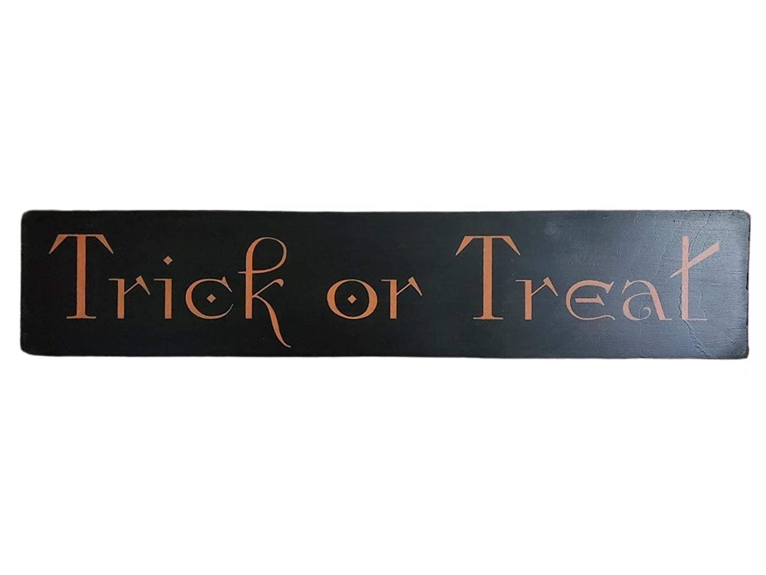 Primitive Gothic Halloween Sale special price Wall Art Home Decor Tre Or Special price for a limited time Sign Trick