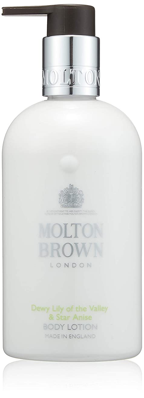 蜂パフパフMOLTON BROWN(モルトンブラウン) デューイ リリー オブ ザ バリー コレクション LOVボディローション