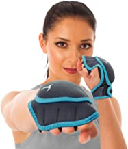 Empower Weighted Gloves for Women, Kickboxing, MMA, 2 Lb Set (1 Pound Each Glove), Teal