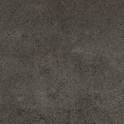 BODENMEISTER BM70566 Vinylboden PVC Bodenbelag Meterware 200, 300, 400 cm breit, Steinoptik Betonoptik grau