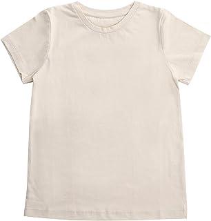 フェアトレード?オーガニックコットン100%Tシャツ キッズ(120) ナチュラル