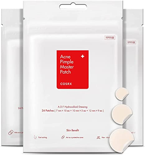 Cosrx 24 EA acne pimple master patch, 3 pack, 0.27 lb