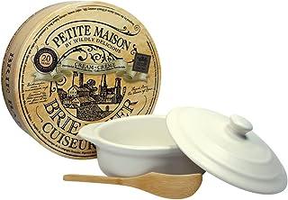 Wildly Delicious Petite Maison Brie Baker in Cream