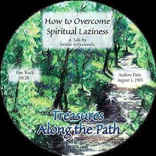 How to Overcome Spiritual Laziness audiobook cover art