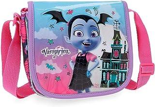 Disney Vampirina Bandoulière avec rabat Pourpre 17x15x4 cms Polyester