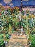 1art1 Claude Monet - Der Garten des Künstlers In