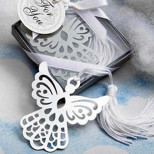 HJH Book Lovers Collection Angel Bookmark Favors (Set of 6) - Wedding Party Favors
