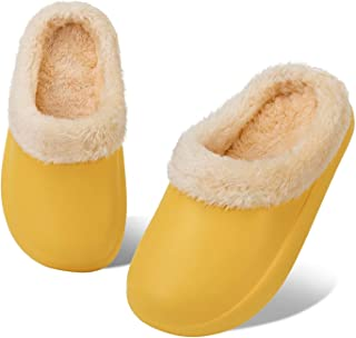 HMIYA Pantofola Invernali per Bambini Ragazzi Ragazze Zoccoli Calde Foderata Ciabatte Slipper da Ultraleggeri e Antiscivol...