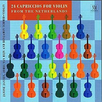 24 Capriccios for Violin Solo