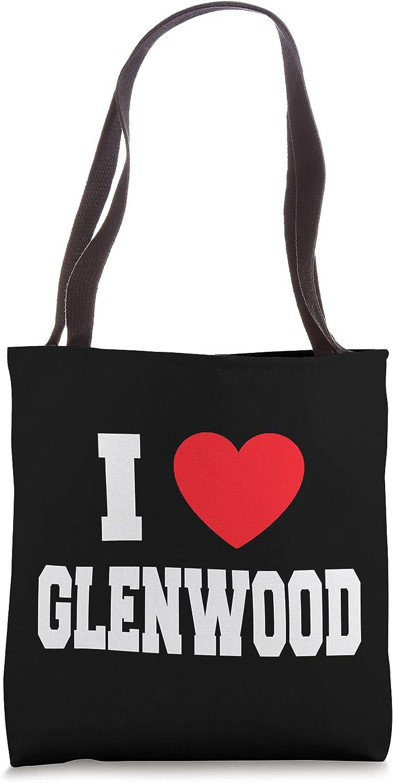I Love Glenwood Tote Bag