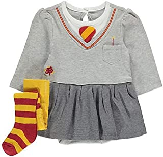 d9c9e089c George Harry Potter Wizard Hermione Baby Babies Bodysuit & Tights Outfit  Grey