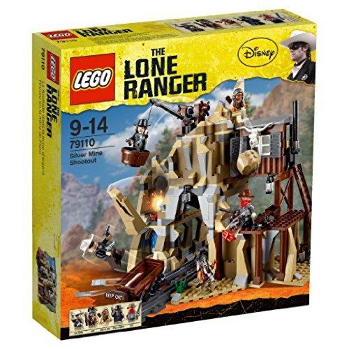 LEGO The Lone Ranger - 79110 - Jeu de Construction - L'attaque de la Mine d'argent