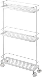 Yamazaki Storage cart, Steel, White, One size