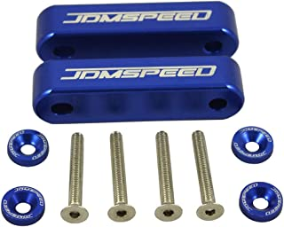 JDMSPEED Anodized Blue Hood Spacer Hood Riser 3/4