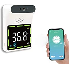 Non-contact infrarood-thermometer met Fever Alarm, Automatische Inductie Digital Display voor wandmontage Body voorhoofd t...