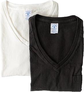 [ベルバシーン] Velva Sheen 2パック VネックポケットTシャツ パックTシャツ・160922 メンズ