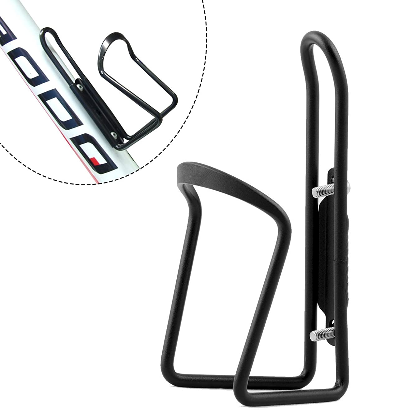 FiveBox Lightweight Aluminum Alloy Bicycle Water Bottle Cage Holder for Outdoor Activities