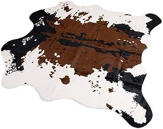 Alfombra Piel de Vaca sintética, 140 x 160 cm Alfombra Piel