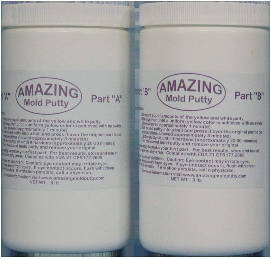 Alumilite Amazing Mold Lb Putty Max 59% OFF 6 Max 48% OFF