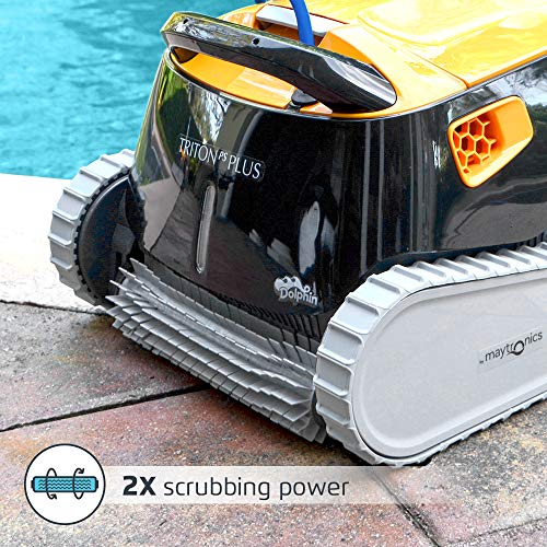 DOLPHIN Triton PS Plus Robotic Pool Cleaner with WiFi Connectivity Pool Cleaning, Ideal for Swimming...