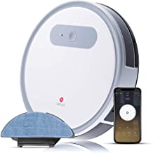 Lefant M501-A Robot Vacuum Cleaner and Mop, WI-FI App Control, Super Quite, 1200Pa Strong Suction, Self Charging Robotic Vacuum Cleaners, Cleans Pet Hair, Medium Carpets and Hardwood Floors