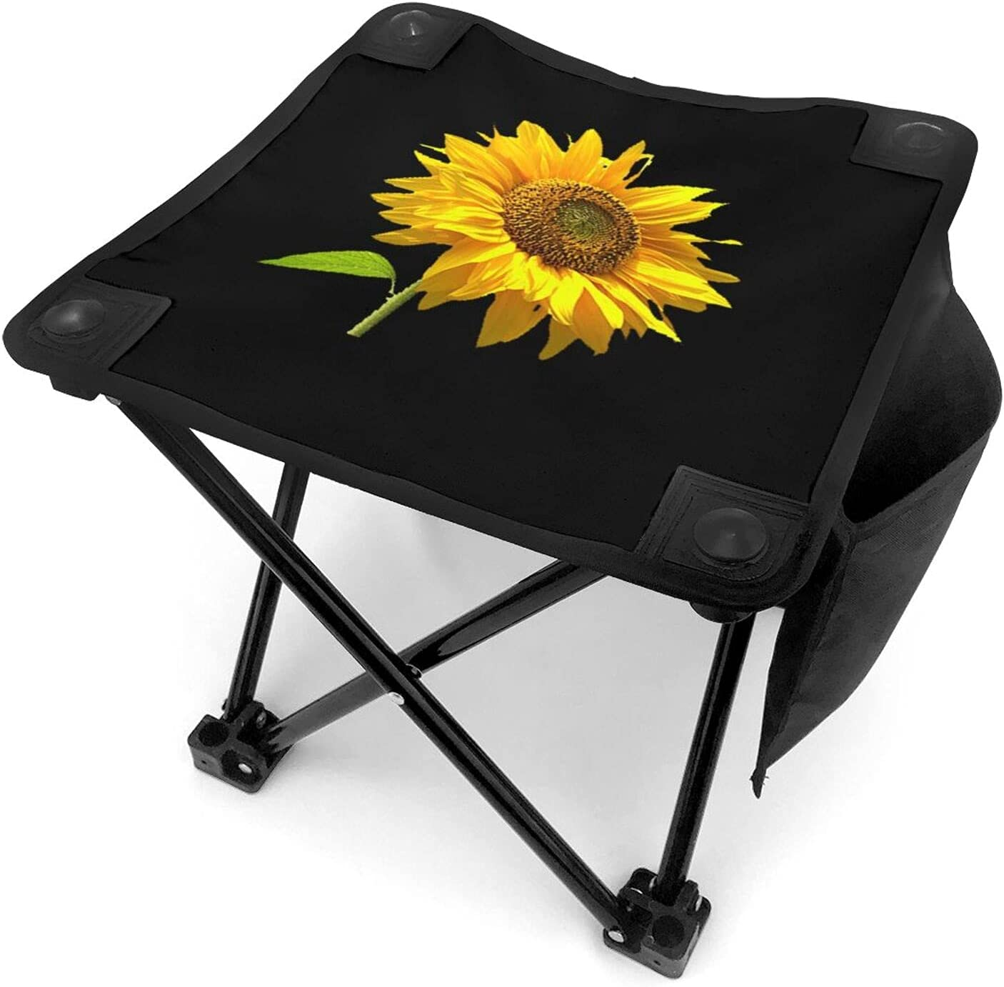 SEAL limited product Sunflower Inspirational Camping Stool Portable Fishin High order Ultralight