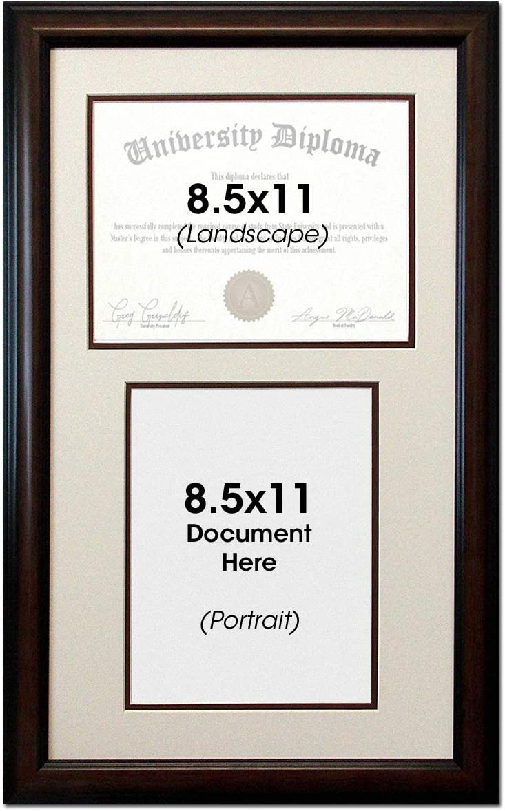 Double Ultra-Cheap Deals Diploma Document Certificate Openings Wood Pictur Reverse 2021 new