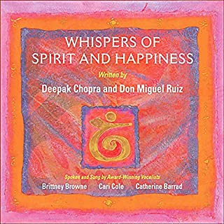 Whispers of Spirit and Happiness audiobook cover art