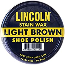 Lincoln Stain Wax Shoe Polish - 2.2 oz