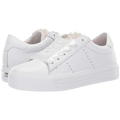 Kennel & Schmenger Up Pearl Sneaker (Bianco Calf/Pearls) Women