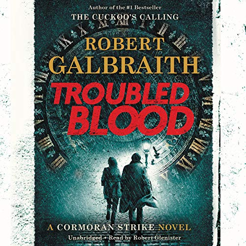 Troubled Blood Audiobook By Robert Galbraith cover art