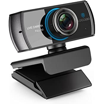 LOGITUBO CáMara Web, Webcam Full HD 1080P Doble MicróFono