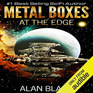 Metal Boxes - At the Edge audiobook cover art