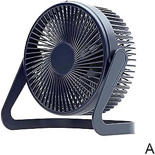 NIUASH Neck Cooler USB Desktop Fan Super Quiet Mini Fan Two Gears Adjustable Air Volume Adjustable 360 Degree Rotation D...
