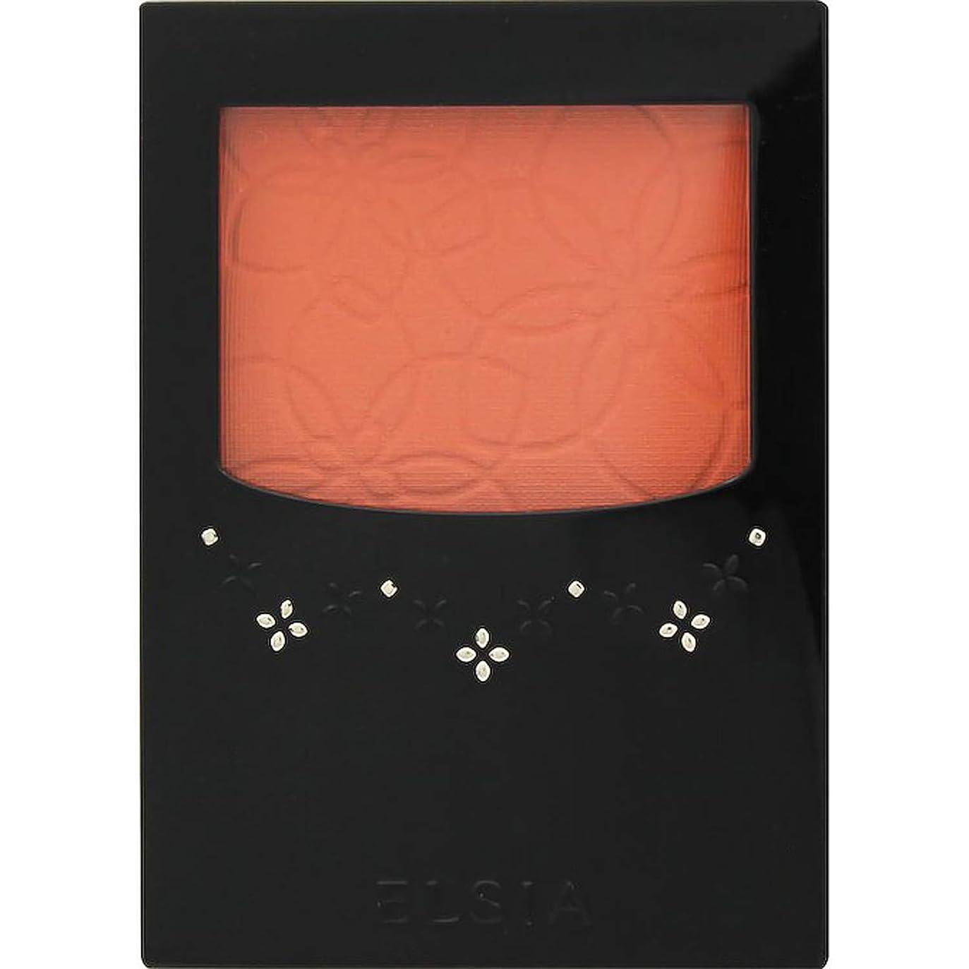 時制オゾン皮肉なエルシア プラチナム 明るさ&血色アップ チークカラー オレンジ系 OR200 3.5g
