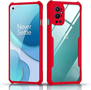 MARGOUN for OnePlus 9 Pro Hybrid Case Cover 6.7 inch (2021) with Integrated Camera Cover, Military Grade Drop Tested Slim ...