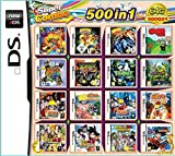 500 Spiele in 1 NDS Game Pack Card Super Combo Cartridge für NDS NDSL 2DS 3DS NDSI New 3DS XL (500 in 1)